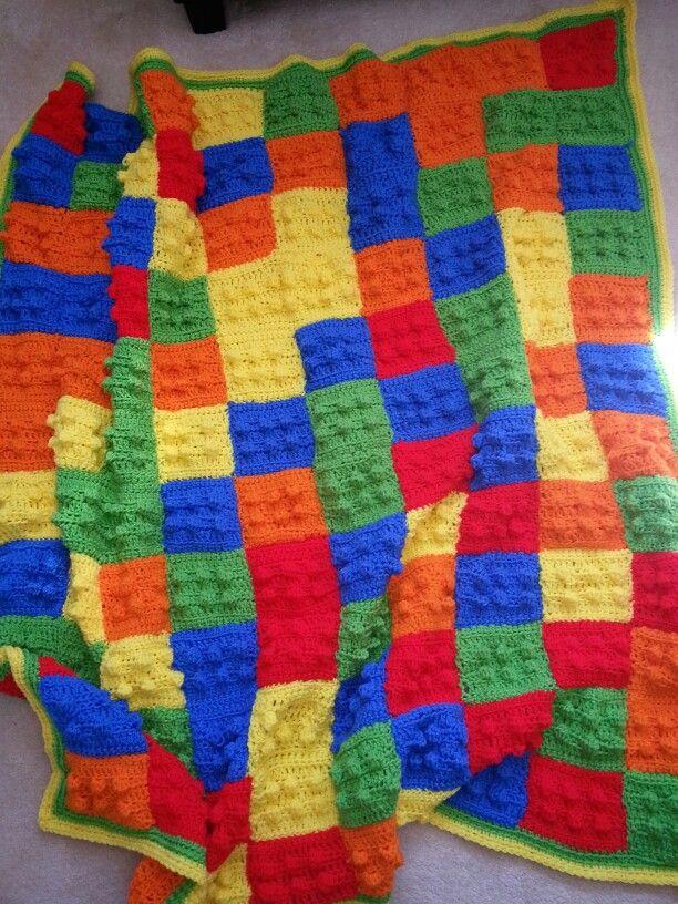 Lego crochet blanket crochet Pinterest Lego, Blankets and Crochet