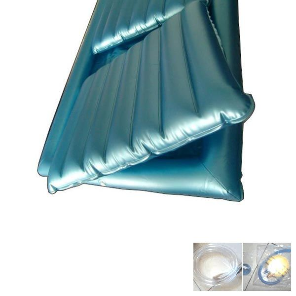 PVC Water Bed with hose and handle pump