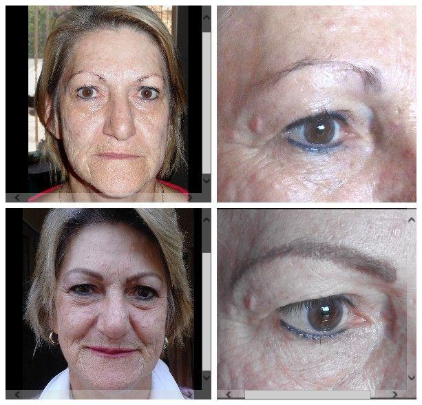 Eyebrow hairstrokes & full lips. Vanderbijlpark - Marié Holtzhausen 083 692 2207