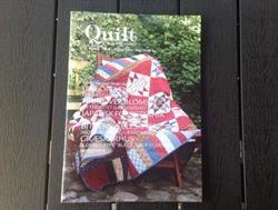 Quilt.dk nr 3 2014 er et dansk patchwork blad/Quilteblad