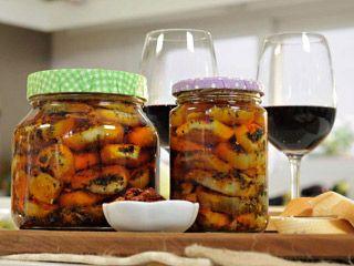 Berenjenas en escabeche | Recetas | cocina express con microondas