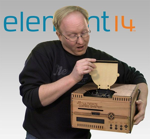 Ben Heck Builds PS3 Wii U Xbox 360 Combo System