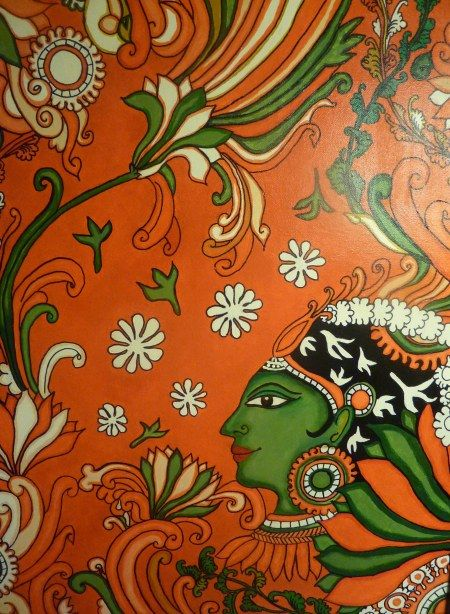How to make a traditional Indian mural painting www.whatsurhomestory.com
