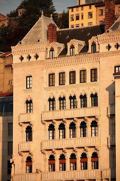 Lyon - Quai de Saône - Quartier St Georges - Maison Blanchon