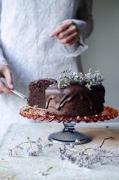 Mój sekretny przepis na najlepsze ciasto czekoladowe czyli chocolate mud cake