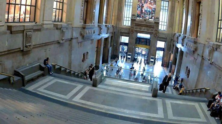 10. Милан. Италия. Главный вход на центральный железнодорожный вокзал.