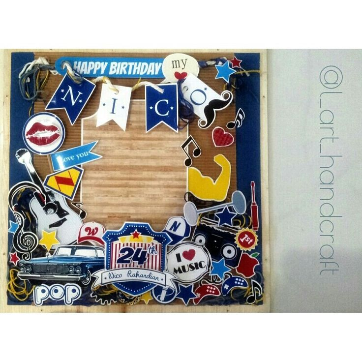 gift for your beloved one #scrapframe #scrap #gift #present