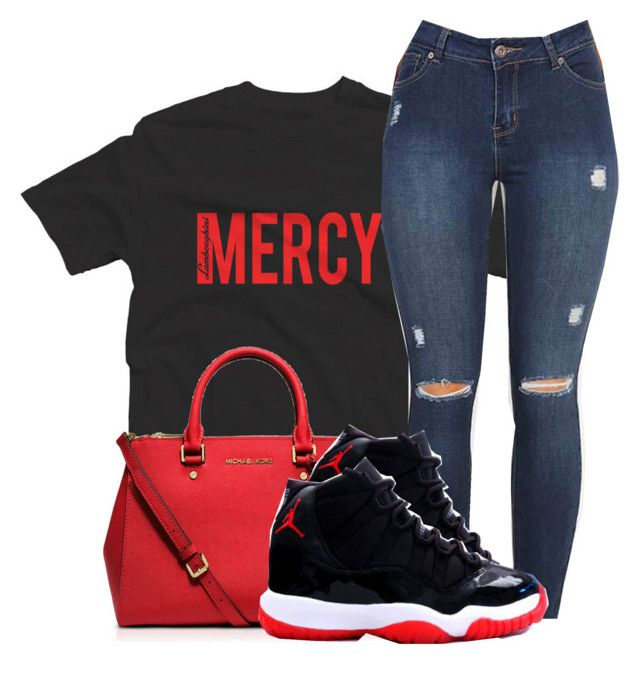 """""""Mercy"""" by beautiful-image on Polyvore featuring adidas Originals and MICHAEL Michael Kors"""