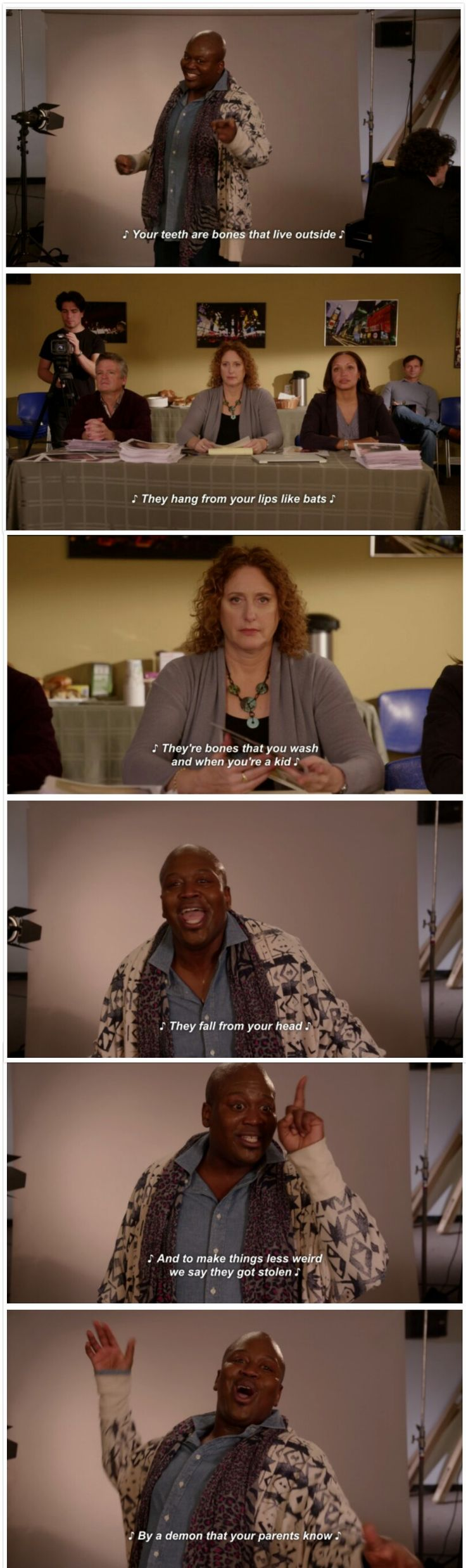 The Unbreakable Kimmy Schmidt, Titus Andromedon, the Tooth Fairy
