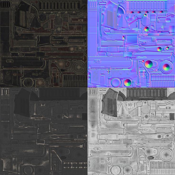 [PBR] M4A1 - Polycount Forum