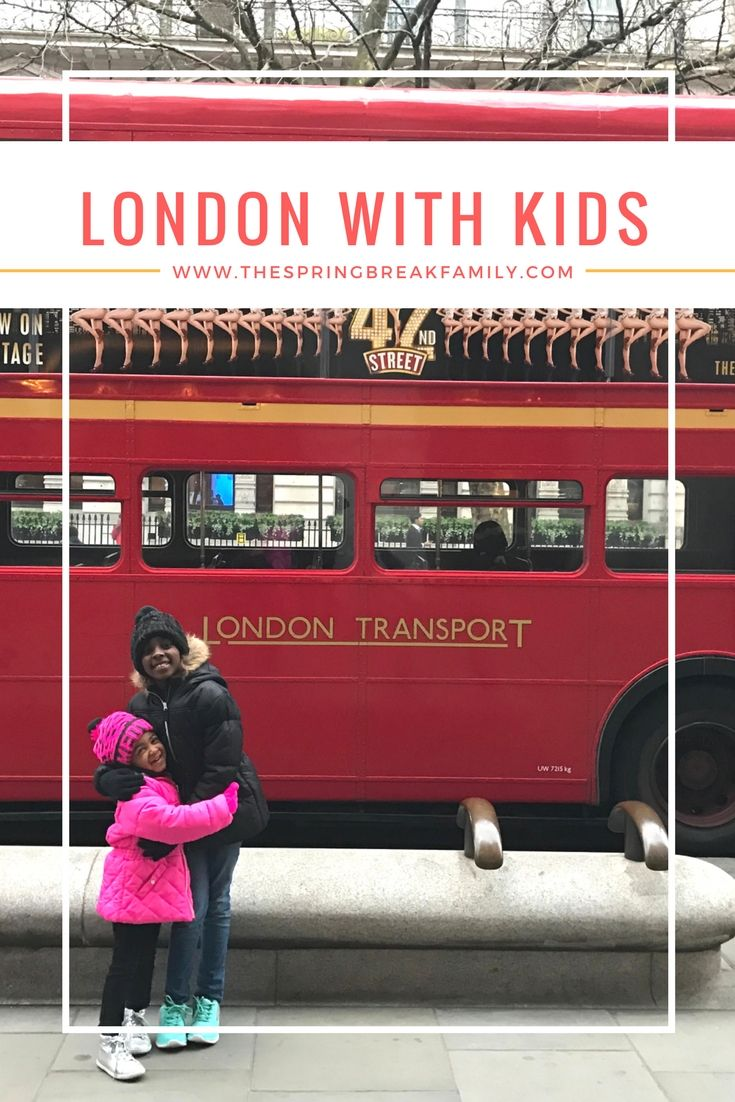 3 Days in London with Kids