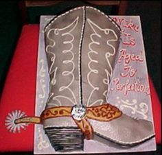 Cowboy Boot on Cake Central