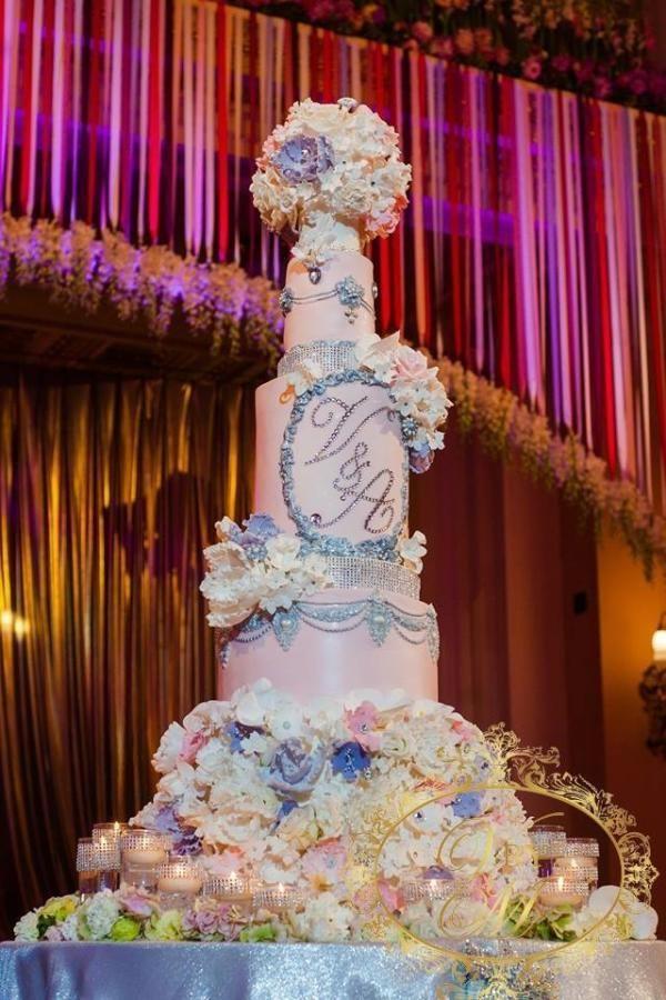 7 tiered Wedding Cake