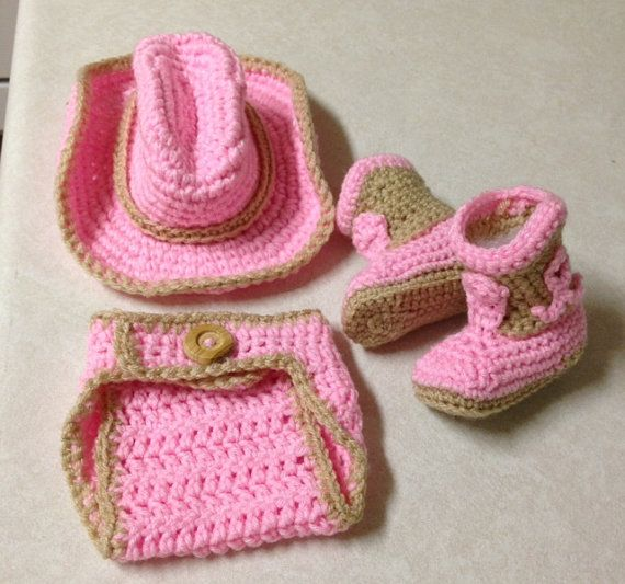 Baby Newborn, Newborn Cowgirl, Baby Outfits, Crochet Cowgirl Outfit ...