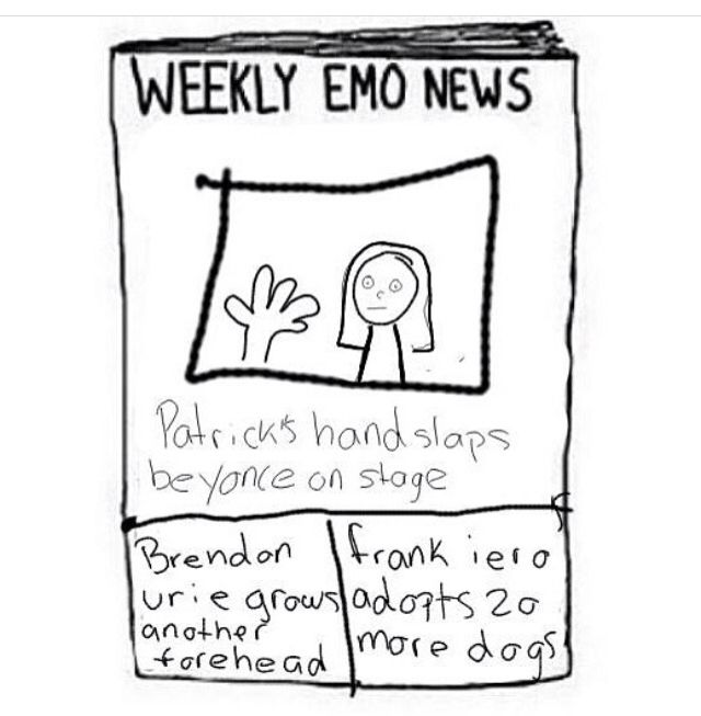 Weekly Emo News - CAN THAT FIRST ONE ACTUALLY HAPPEN PLEASE