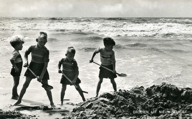 Ravotten op het strand!