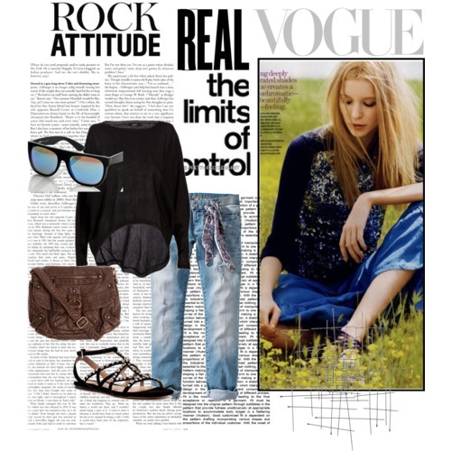 punk.: A Mini-Saia Jeans, Jeans Cuffed, Sandals Spring, Cut Jeans, Style, Punk Rocks, Lights Weights, Weights Sweaters