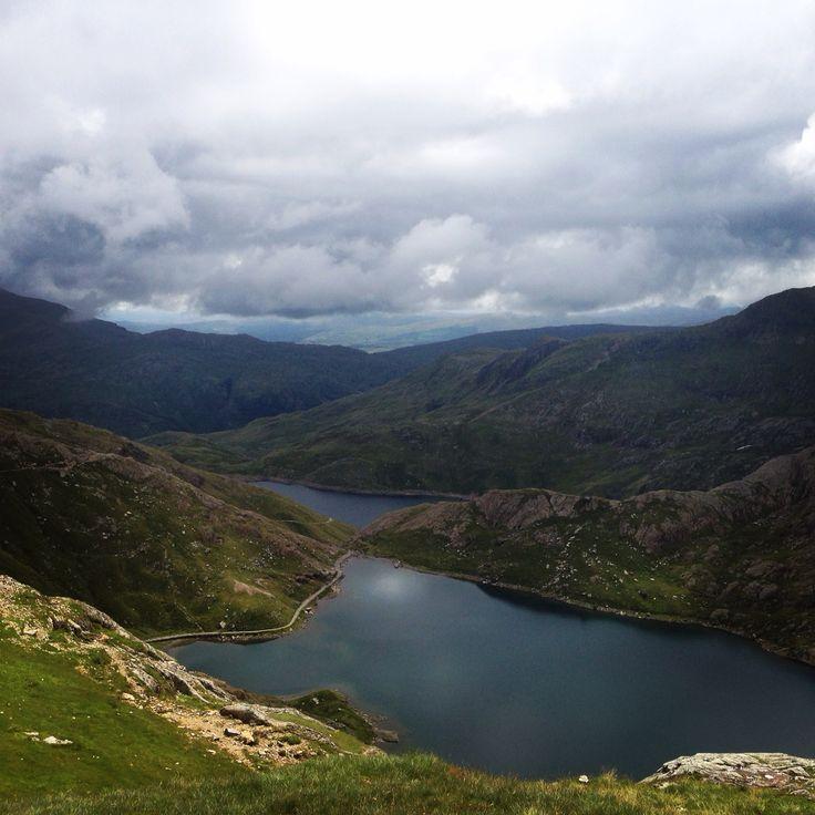 Welsh 3000 15 peak challenge.