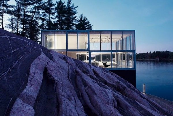 the glass house in Canada