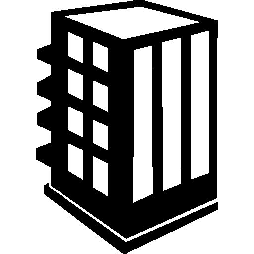 Rectangular building I Free Icon