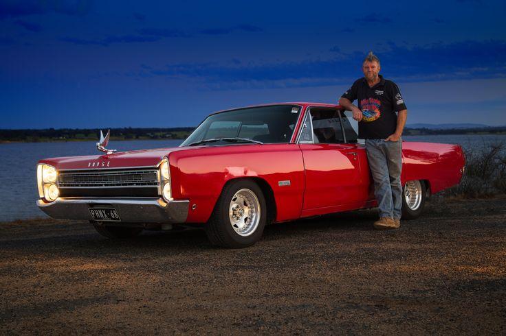 Darren Hodge with his 1968 Dodge Phoenix