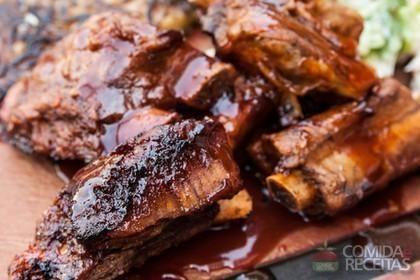 Receita de Costelinha com molho barbecue em receitas de carnes, veja essa e outras receitas aqui!