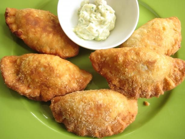 Louisiana Fried Meat Pies With Cajun Tartar Sauce. Photo by gailanng. Used the pastry recipe in this to turn left over ground beef into a whole new meal...made these tonight with deer meat...SOOO good!