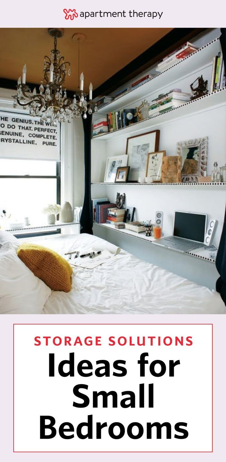 622 best images about storage solutions on pinterest - Storage solutions for small bedrooms ...
