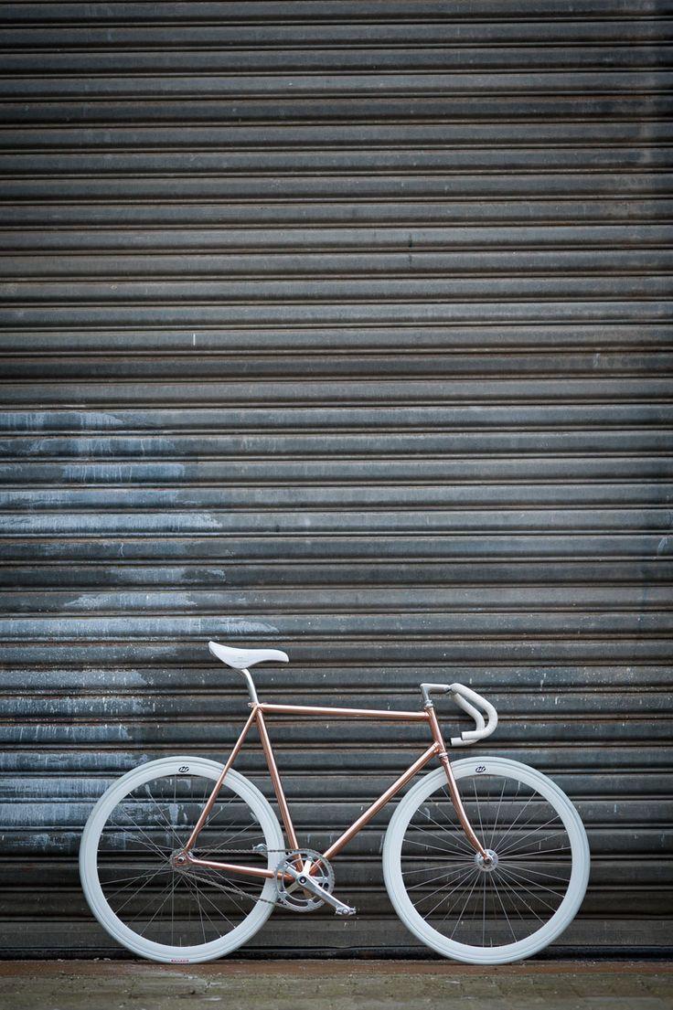 COPPER BICYCLE - by Joost Olsthoorn