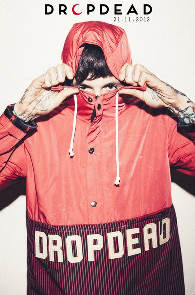 Oliver Sykes Drop Dead Clothing