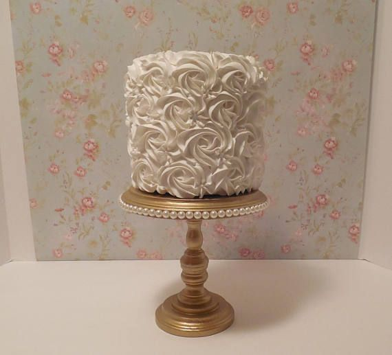6 Inch Cake Stand Gold And Pearl Pearl Cake Stand Smash Cake