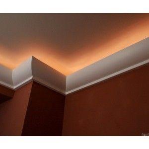 D coration plafond corniche en staff ceiling cornice for Staff plafond moderne