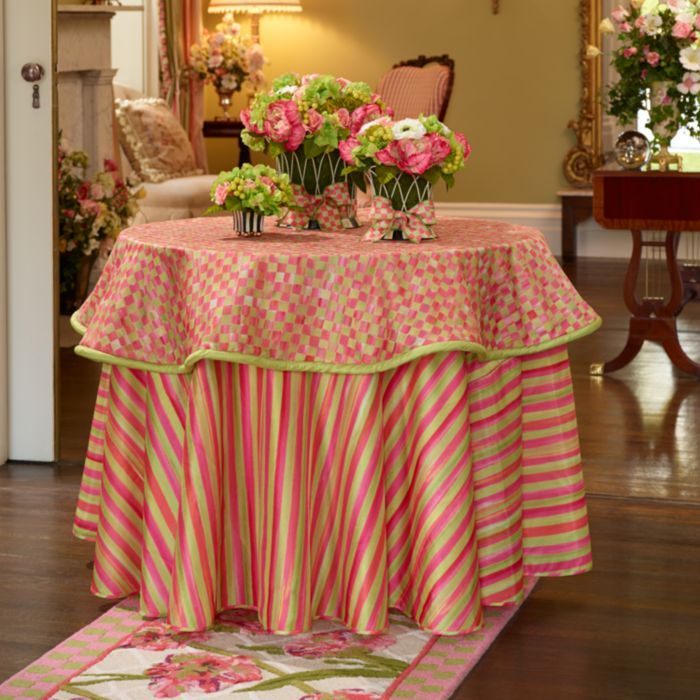 MacKenzie-Childs - Tulip Stripe Tablecloth
