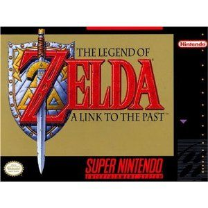 The Legend of Zelda: A Link to the Past. Best Zelda game ever! I beat it probably almost twenty times.