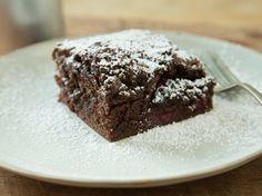 Schneller Schoko-Kirsch-Kuchen vom Blech
