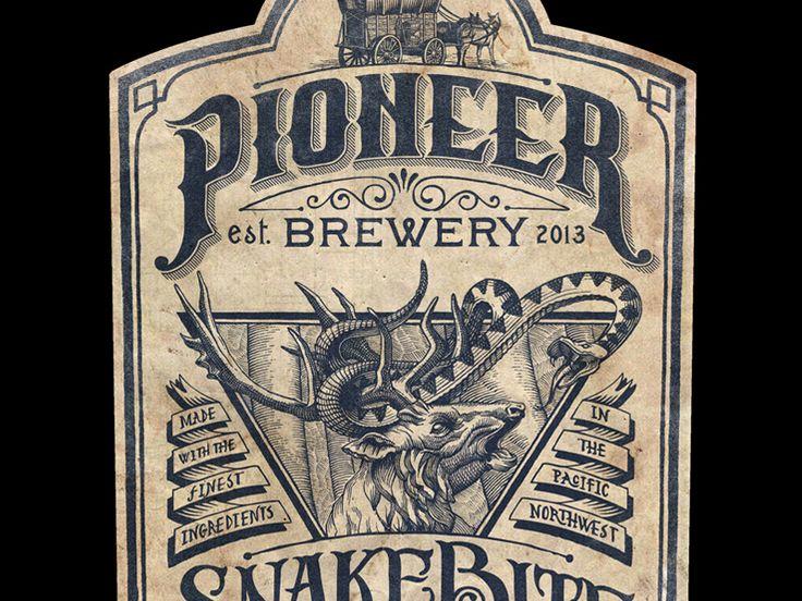 Pioneer Brewery Dribbble