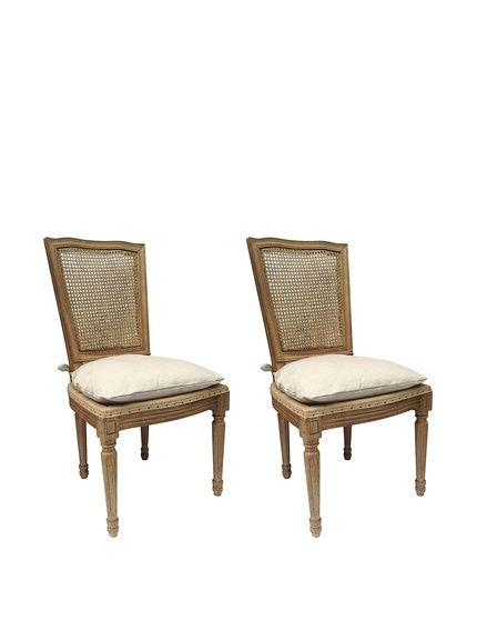 White x White Set of 2 Cammie Dining Chairs, Natural/Brown, http://www.myhabit.com/redirect/ref=qd_sw_dp_pi_li?url=http%3A%2F%2Fwww.myhabit.com%2Fdp%2FB00II16O5I%3F