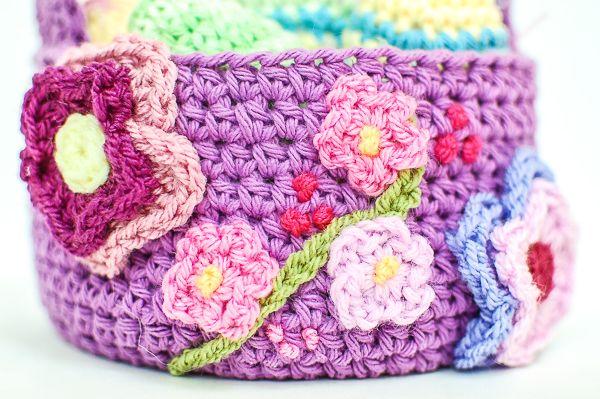Free Easter Basket Crochet PatternPetals to Picots