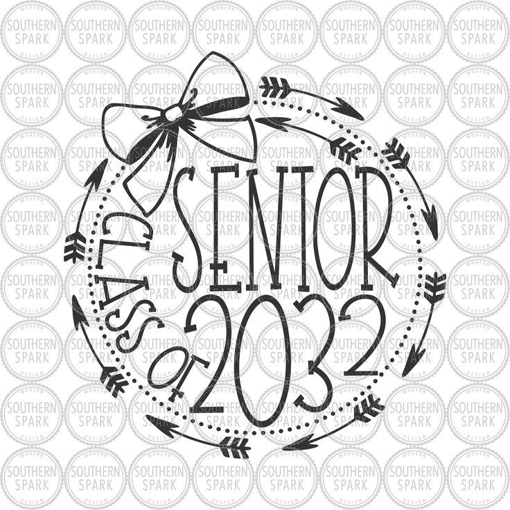 Senior Class Of 2032 Kindergartener 2019 Svg Png Eps Pdf