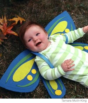 Easy Homemade Butterfly Costume for Babies - Parenting.com