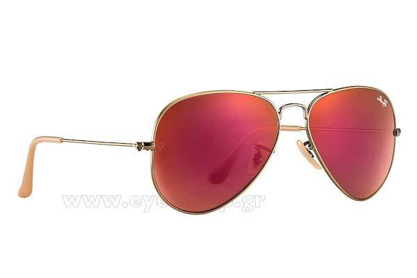 Γυαλια Ηλιου  RayBan 3025 Aviator 1672K Red Mirror Τιμή: 128,00 €