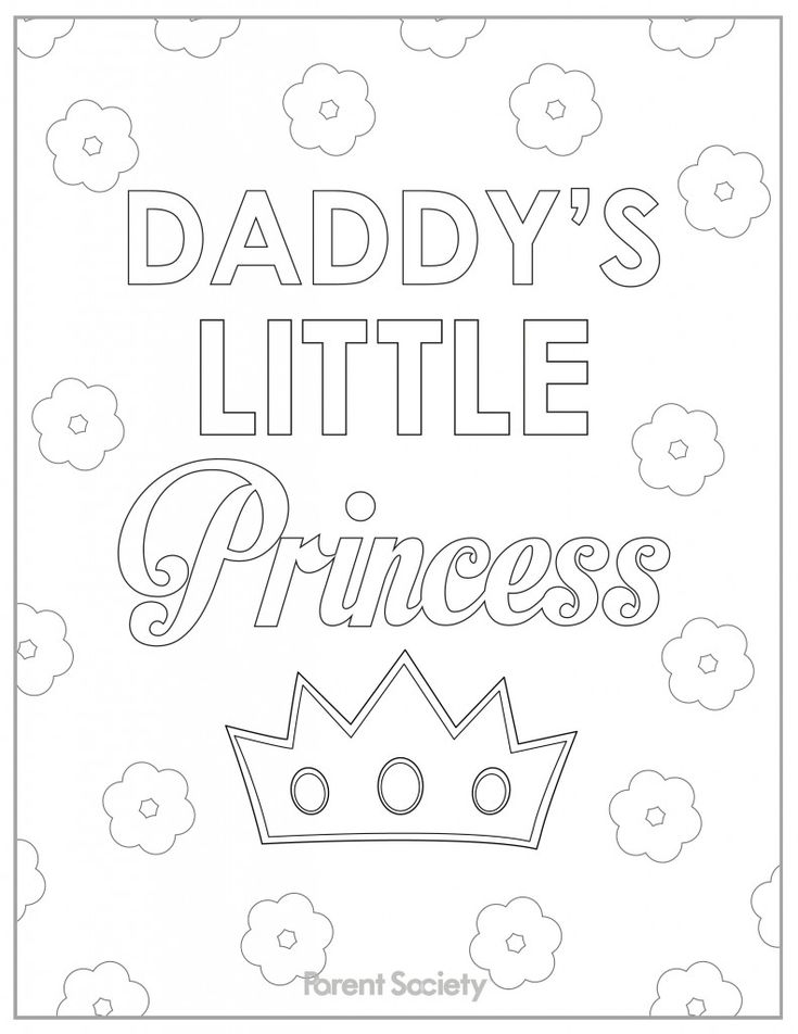 Father 39 s Day Printables Coloring Pages for Kids Father