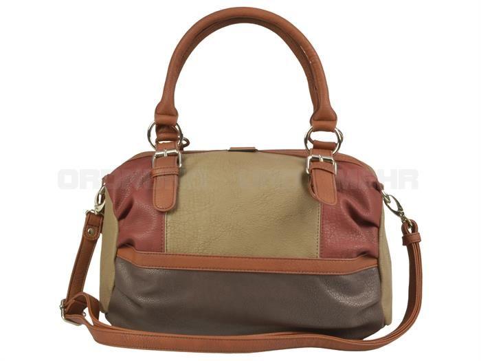 Tom Tailor JUNA - Lederimitat Damentasche Schultertasche Handtasche - 2 Farben