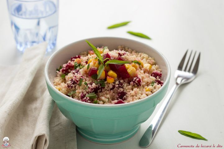 Cous cous di verdure ricetta leggera