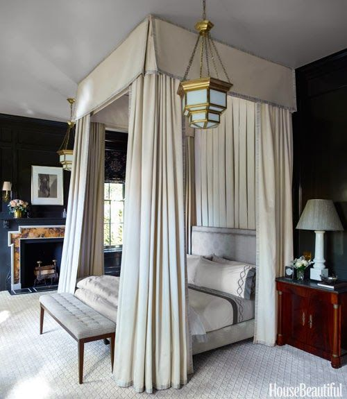 Steven Gambrel Bedroom | Fabulous Room Friday 01.24.14 via La Dolce Vita