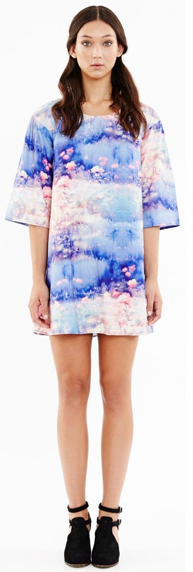 Blue Juice Field Of Dreams Smock Dress by BlueJuice