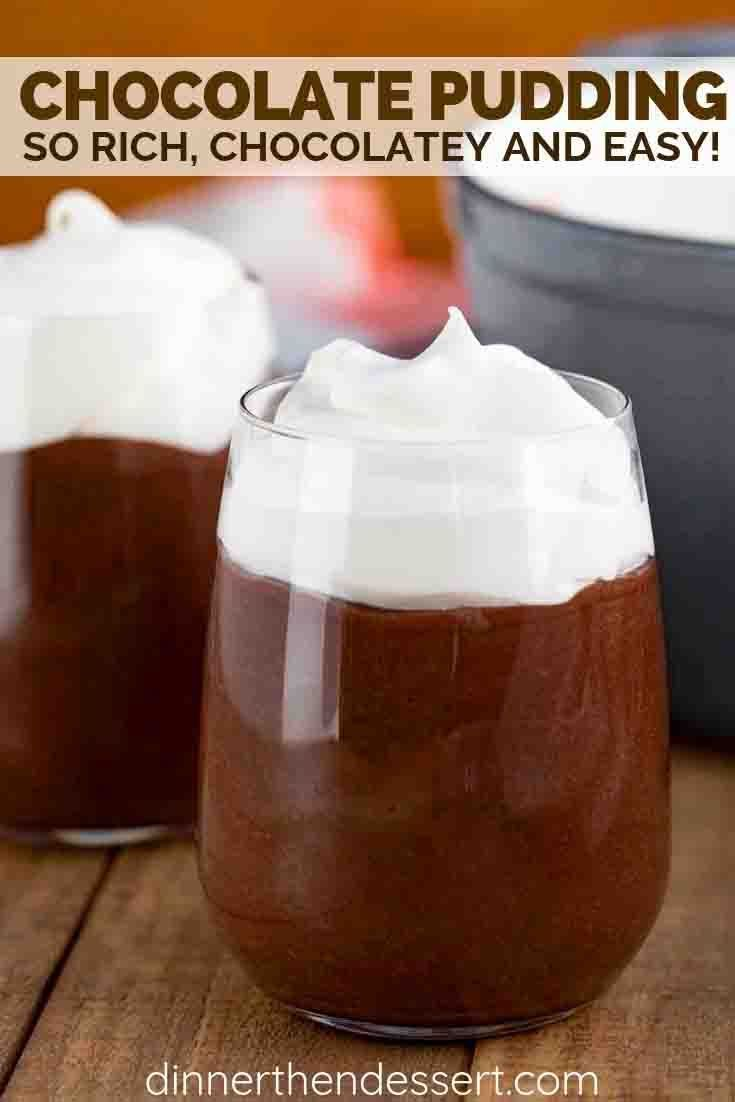 Chocolate Pudding Is A Rich And Creamy Dessert Made With Cocoa Powder Sugar Evaporated Mil Evaporated Milk Recipes Milk Recipes Dinner Milk Chocolate Recipes