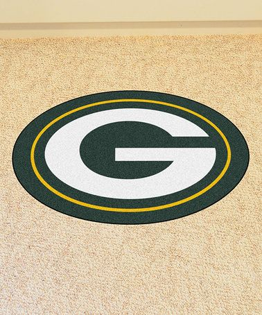Loving this Green Bay Packers Mascot Mat on #zulily! #zulilyfinds