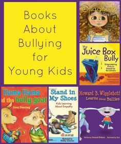 15 Must-Read Books about Bullying for Kids & Teens #bully