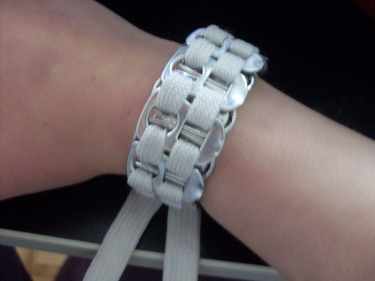 Can Tab And Shoelace Bracelet